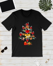 WINE TREE CHRISTMAS Classic T-Shirt lifestyle-mens-crewneck-front-17