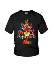 WINE TREE CHRISTMAS Youth T-Shirt thumbnail