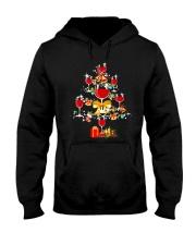 WINE TREE CHRISTMAS Hooded Sweatshirt thumbnail