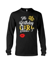 OCTOBER BIRTHDAY GIRL Long Sleeve Tee thumbnail