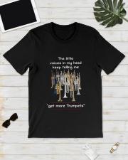 GET MORE TRUMPETS Classic T-Shirt lifestyle-mens-crewneck-front-17