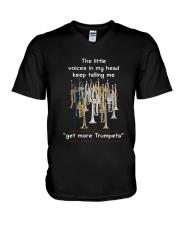 GET MORE TRUMPETS V-Neck T-Shirt thumbnail
