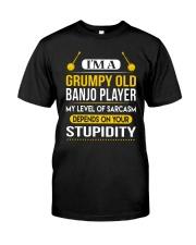 A GRUMPY OLD BANJO Classic T-Shirt front