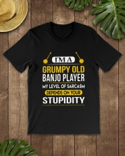 A GRUMPY OLD BANJO Classic T-Shirt lifestyle-mens-crewneck-front-18