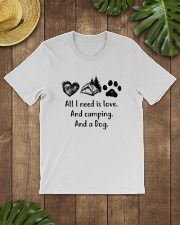 CAMPING DOG Classic T-Shirt lifestyle-mens-crewneck-front-18