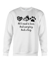 CAMPING DOG Crewneck Sweatshirt tile