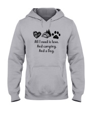 CAMPING DOG Hooded Sweatshirt thumbnail