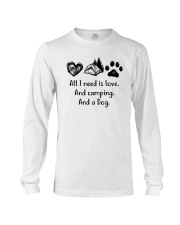 CAMPING DOG Long Sleeve Tee tile