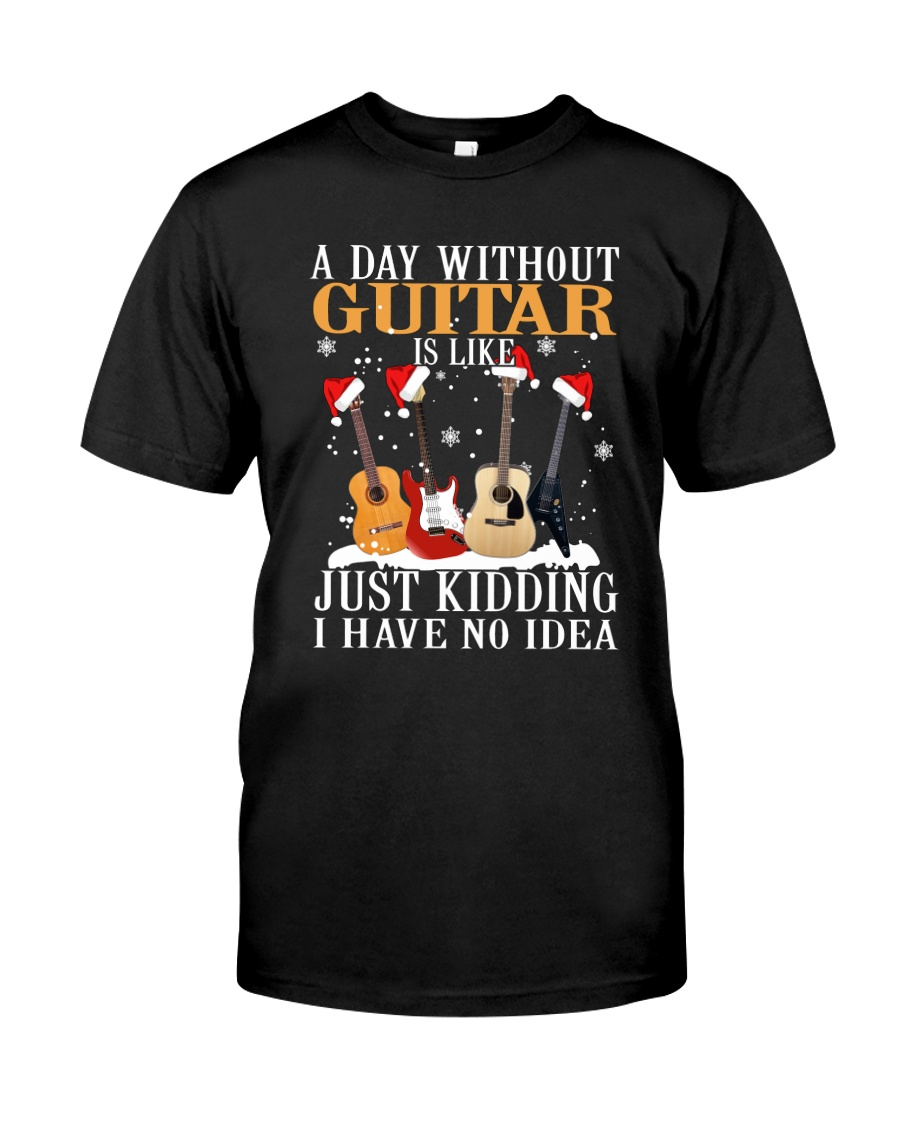 JUST KIDDING GUITAR Classic T-Shirt