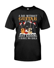 JUST KIDDING GUITAR Classic T-Shirt front