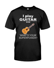 SUPERPOWER GUITAR Classic T-Shirt front