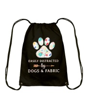 DOGS AND FABRIC Drawstring Bag thumbnail