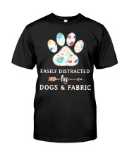 DOGS AND FABRIC Classic T-Shirt front