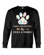 DOGS AND FABRIC Crewneck Sweatshirt thumbnail
