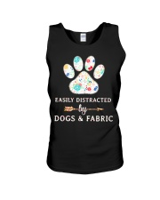 DOGS AND FABRIC Unisex Tank thumbnail