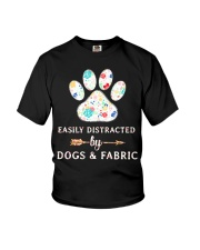 DOGS AND FABRIC Youth T-Shirt thumbnail