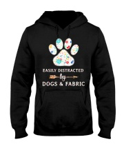 DOGS AND FABRIC Hooded Sweatshirt thumbnail