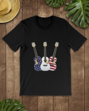 GUITAR 4TH Classic T-Shirt lifestyle-mens-crewneck-front-18