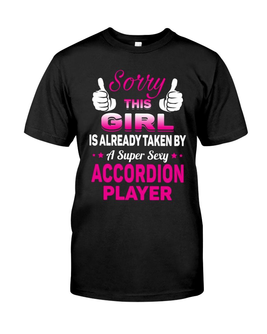 SUPER SEXY ACCORDION Classic T-Shirt