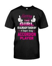 SUPER SEXY ACCORDION Classic T-Shirt front