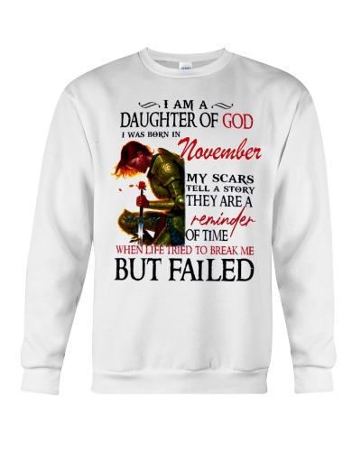 November Daughter God