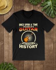 I PICK UP A GUITAR Classic T-Shirt lifestyle-mens-crewneck-front-18
