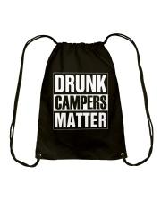 DRUNK CAMPER MATTER Drawstring Bag thumbnail