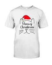 CATS MEOWY CHRISTMAS Classic T-Shirt front