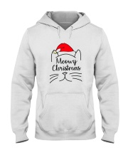 CATS MEOWY CHRISTMAS Hooded Sweatshirt thumbnail