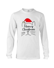 CATS MEOWY CHRISTMAS Long Sleeve Tee thumbnail