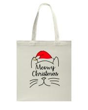 CATS MEOWY CHRISTMAS Tote Bag thumbnail