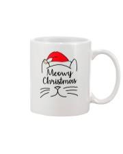 CATS MEOWY CHRISTMAS Mug thumbnail