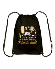 CAMPING FRIENDS FAULT Drawstring Bag thumbnail