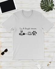 WINE COFFEE DOG Classic T-Shirt lifestyle-mens-crewneck-front-17