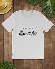 WINE COFFEE DOG Classic T-Shirt lifestyle-mens-crewneck-front-18
