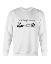 WINE COFFEE DOG Crewneck Sweatshirt thumbnail