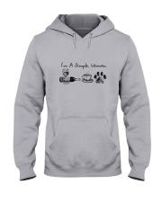 WINE COFFEE DOG Hooded Sweatshirt thumbnail