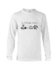 WINE COFFEE DOG Long Sleeve Tee thumbnail