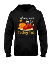 WINE FEELING FINE Hooded Sweatshirt thumbnail