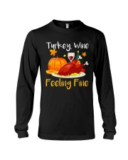 WINE FEELING FINE Long Sleeve Tee thumbnail