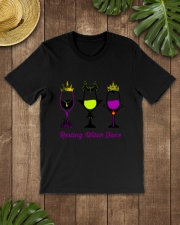 RESTING WITCH FACE WINE Classic T-Shirt lifestyle-mens-crewneck-front-18