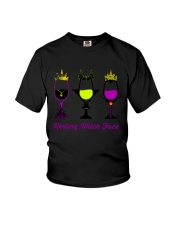 RESTING WITCH FACE WINE Youth T-Shirt thumbnail