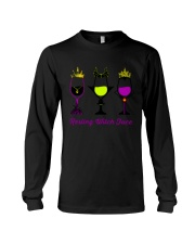 RESTING WITCH FACE WINE Long Sleeve Tee thumbnail