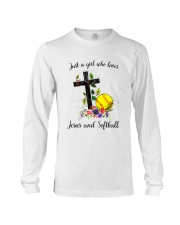 JESUS AND SOFTBALL Long Sleeve Tee thumbnail