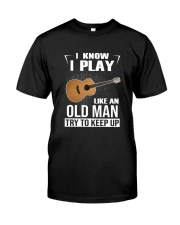 GUITAR KEEP UP Classic T-Shirt front