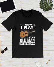 GUITAR KEEP UP Classic T-Shirt lifestyle-mens-crewneck-front-17