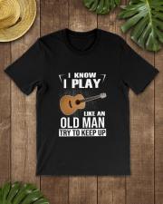 GUITAR KEEP UP Classic T-Shirt lifestyle-mens-crewneck-front-18