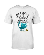 LOVE AND CAT Classic T-Shirt front