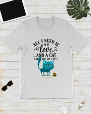 LOVE AND CAT Classic T-Shirt lifestyle-mens-crewneck-front-17