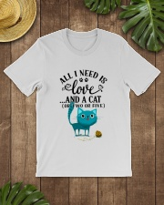 LOVE AND CAT Classic T-Shirt lifestyle-mens-crewneck-front-18